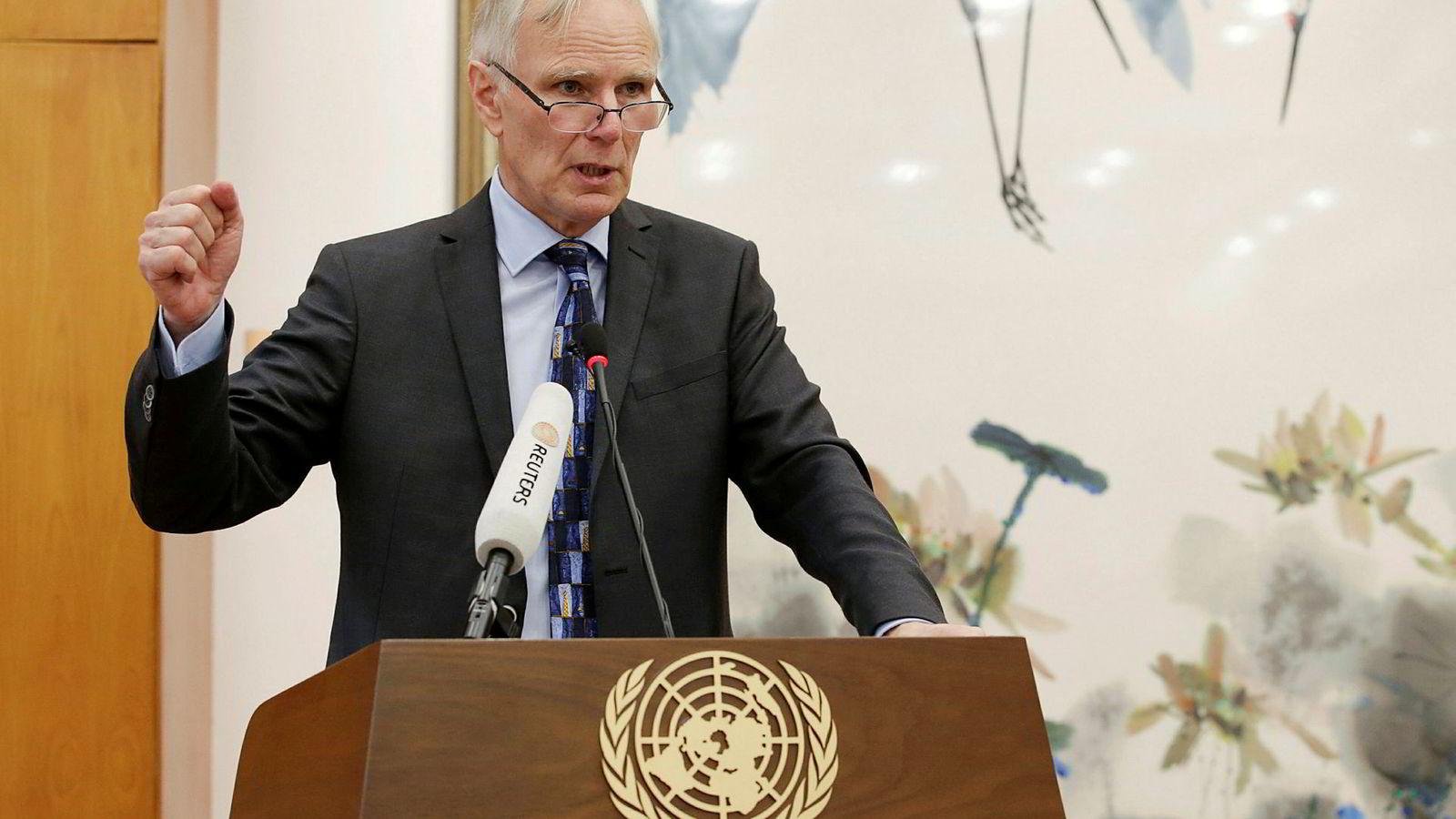 FNs ekspert på ekstrem fattigdom, Philip Alston, kommer med kraftig kost i ny rapport.