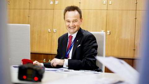 RENTEKUTT. SpareBank 1 Nord-Norge kutter boliglånsrenter og innskuddsrenter. På bildet, konsernsjef Jan-Frode Janson i SpareBank 1 Nord-Norge. Foto: Ingun A. Mæhlum