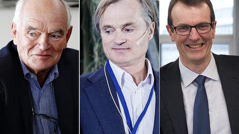 Trond Mohn, Øystein Stray Spetalen og SveinStøle betalte 585 millioner kroner i skatt tilsammen i 2015