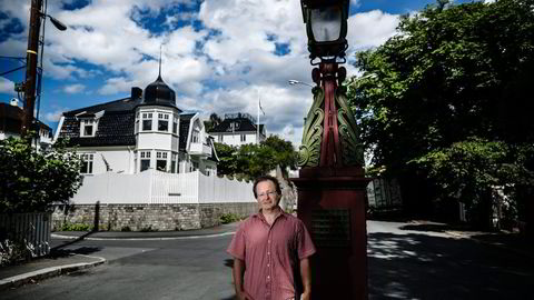 BRANNFAKKEL. Civita-økonom Villeman Vinje vil fjerne rentefradraget for å gi generelt skattefradrag i stedet. Foto: Per Thrana