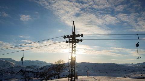 På godværsdager kan Haukelifjell gi en skiopplevelse på høyde med det beste i landet.