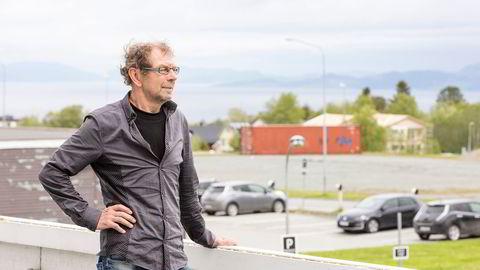 Økonomiprofessor Anders Skonhoft ved NTNU kjemper mot vindmøller. Foto: Wil Lee-Wright