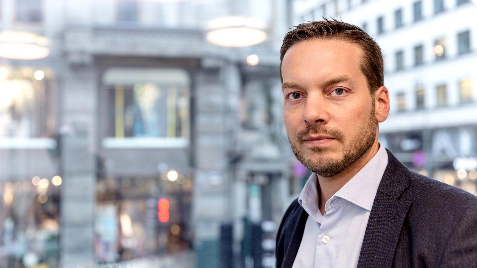 Karl Oscar Strøm, investeringsøkonom i Nordnet.