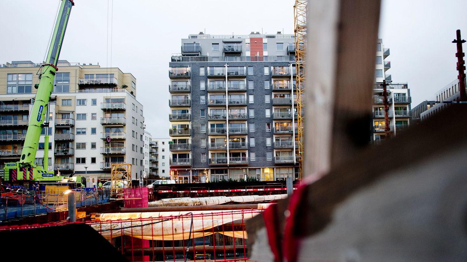 FLERE SOSIALBOLIGER: Bydelen Gamle Oslo, der bildet er tatt, får klart flest av de 617 nye sosialboligene som Oslo ønsker å kjøpe av Obos.