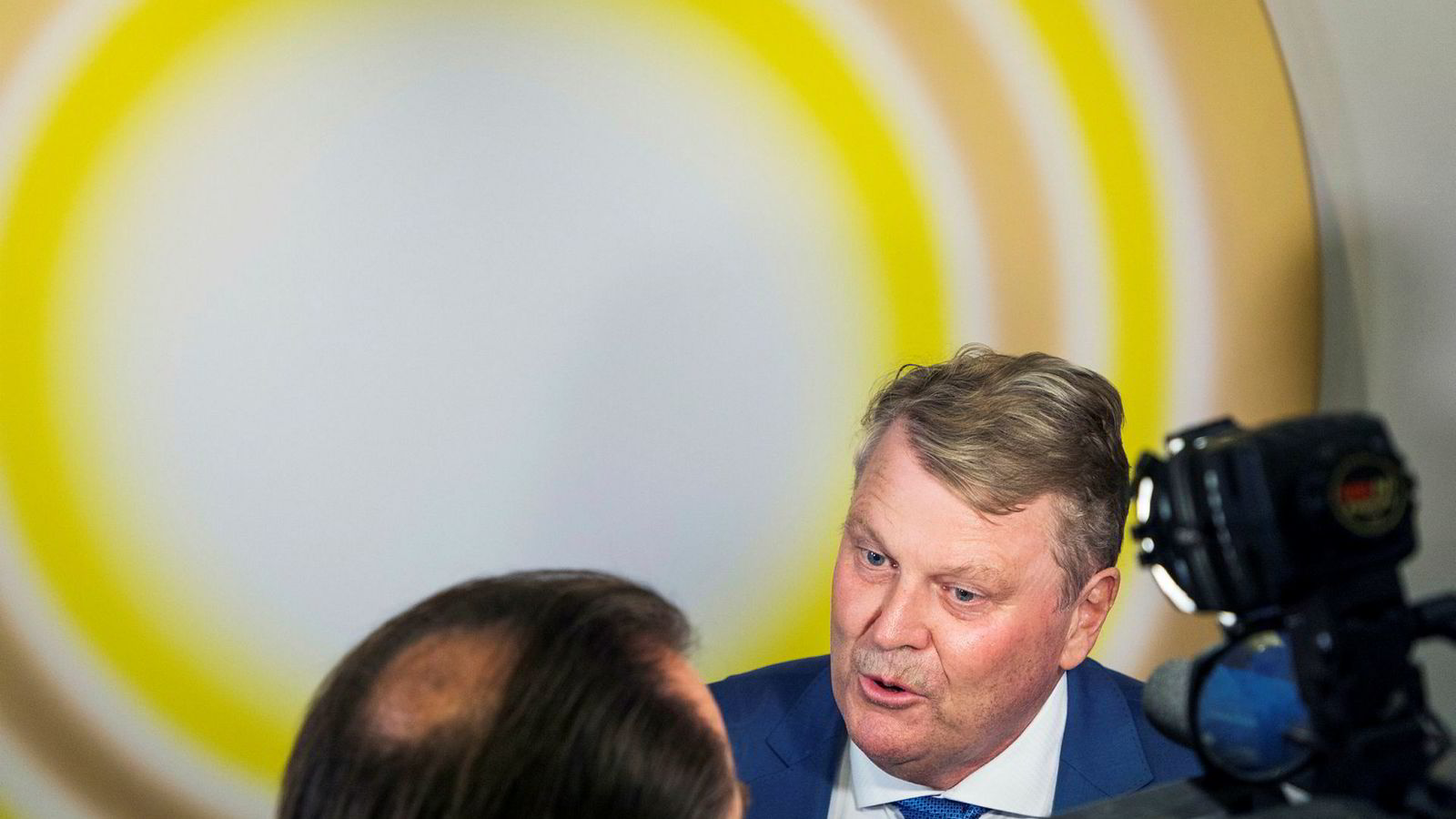 8b1fbe45 KrF-topp Hans Fredrik Grøvan vil ikke bøye seg for forslaget om skriftlig  hemmelig votering