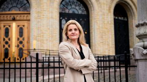 Forbrukerrådets direktør Inger Lise Blyverket mener det er riktig med omkamp mot DNB.