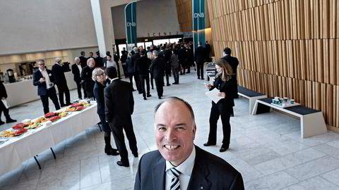 Jotun-styreleder og aksjonær Odd Gleditsch.                    Foto: Aleksander Nordahl