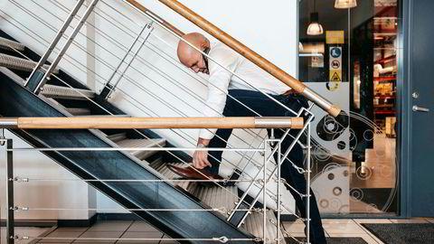 Det er full fart igjen for Inge Brigt Aarbakke og selskapet Aarbakke. Ordrene raser inn i stort tempo.