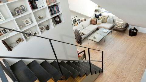 Loftsleiligheten i Vidars gate ble i 2017 nominert til Oslo Bys arkitekturpris og ble solgt for 9,3 millioner kroner