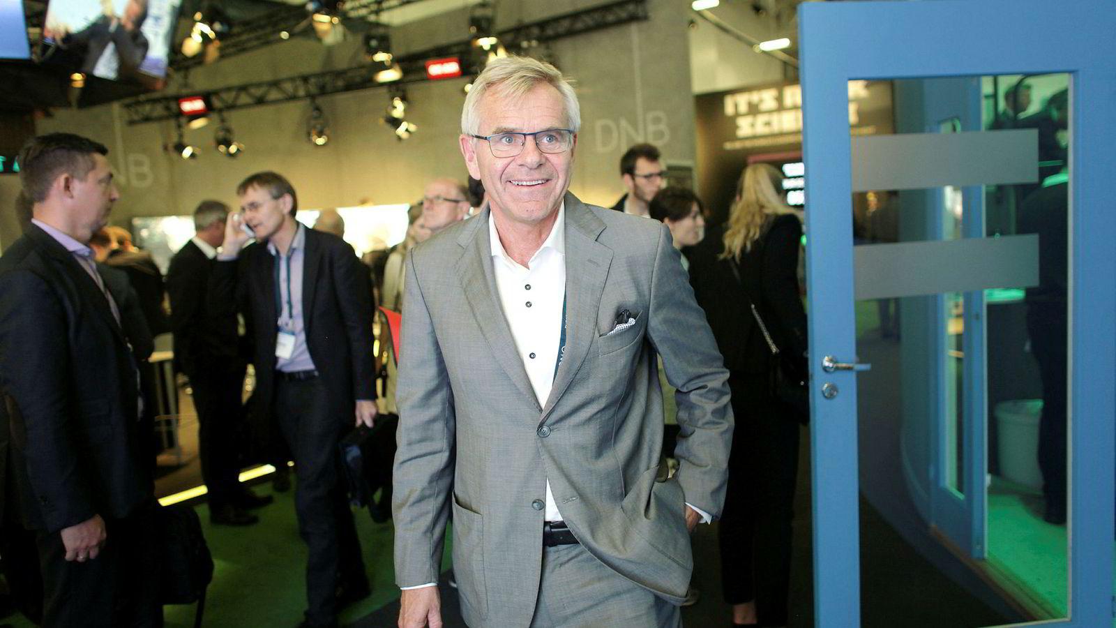 Terje Osmundsen, grunnlegger og administrerende direktør i det norske risikofondet Empower New Energy på ONS-messen i Stavanger i 2016.