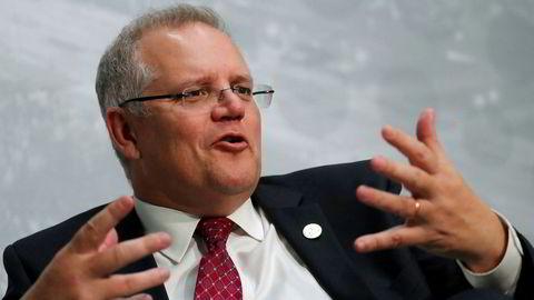Scott Morrison er Australias nye statsminister.