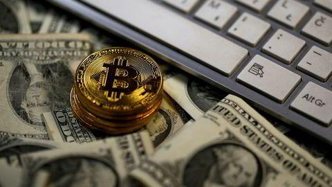Bitcoin er en digital valuta – så dette er kun en illustrasjon. Foto: Dado Ruvic