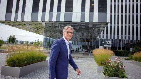 Aker-sjef Øyvind Eriksen.