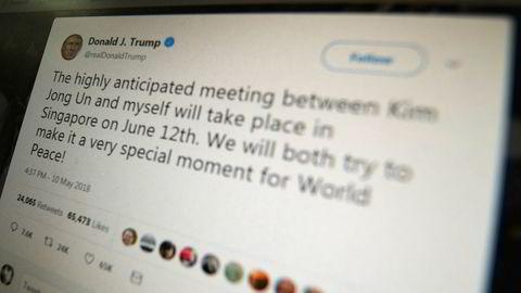 En ankedomstol slår fast at det er grunnlovsstridig av president Donald Trump å blokkere kritikere på Twitter.