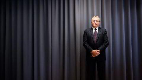 Eldar Sætre har nå vært toppsjef i to år - parallelt med en av tidenes verste oljenedturer.  Foto: Aleksander Nordahl