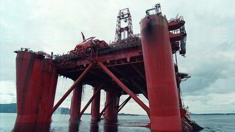 Borefartøyet Bideford Dolphin som eies av Fred. Olsen Energy.