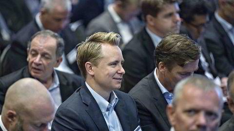 Styreleder Kristian Røkke på årets Pareto-konferanse.