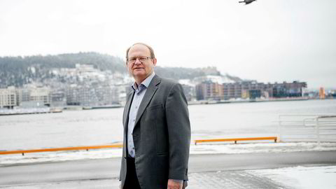 Kredittøkonom Per Einar Ruud i Bisnode sliter med å finne en god forklaring på den kraftige økningen i antall konkurser. Foto: Mikaela Berg