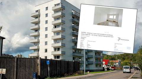 Ni leiligheter som Fredensborg annonserte på Finn.no i denne blokken i Brobekkveien 33 i Oslo ble oppført med feil areal. Nå har rubrikktjenesten tatt grep for å forhindre arealforvirring.