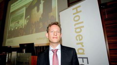 Robert Lie Olsen er forvalter i Holbergfondene. Bildet er fra 2015.