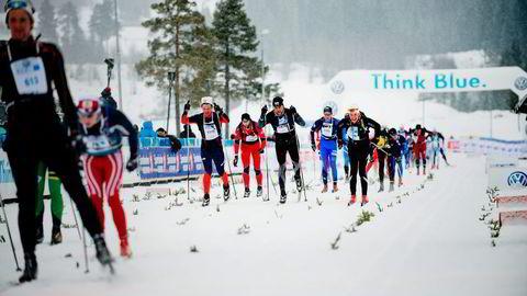 – Har man fokus på topplassering er det bånn pinne fra start. Andre må disponere mer, sier langløpsveteran Anders Aukland. Foto: Thomas Haugersveen