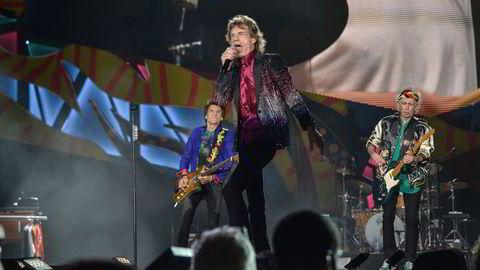 Rolling Stones sto på scenen i Havana for første gang noensinne fredag. Foto: Yamil Lage/AFP/NTB SCANPIX