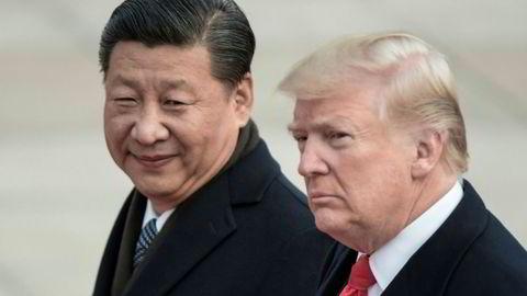 Kinas president Xi Jinping and USAs president Donald Trump skal ha hatt konstruktive telefonsamtaler.
