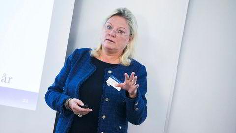 Ragnhild Wiborg forvalter penger i Wiborg Kapitalforvaltning og har en rekke profilerte styreverv i Norge og Sverige. Nå peker hun på faren for børsfall om handelskrigen eskalerer.