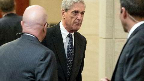 Spesialetterforsker Robert Mueller her nå fredag kveld levert sin rapport til justisminister William Barr.