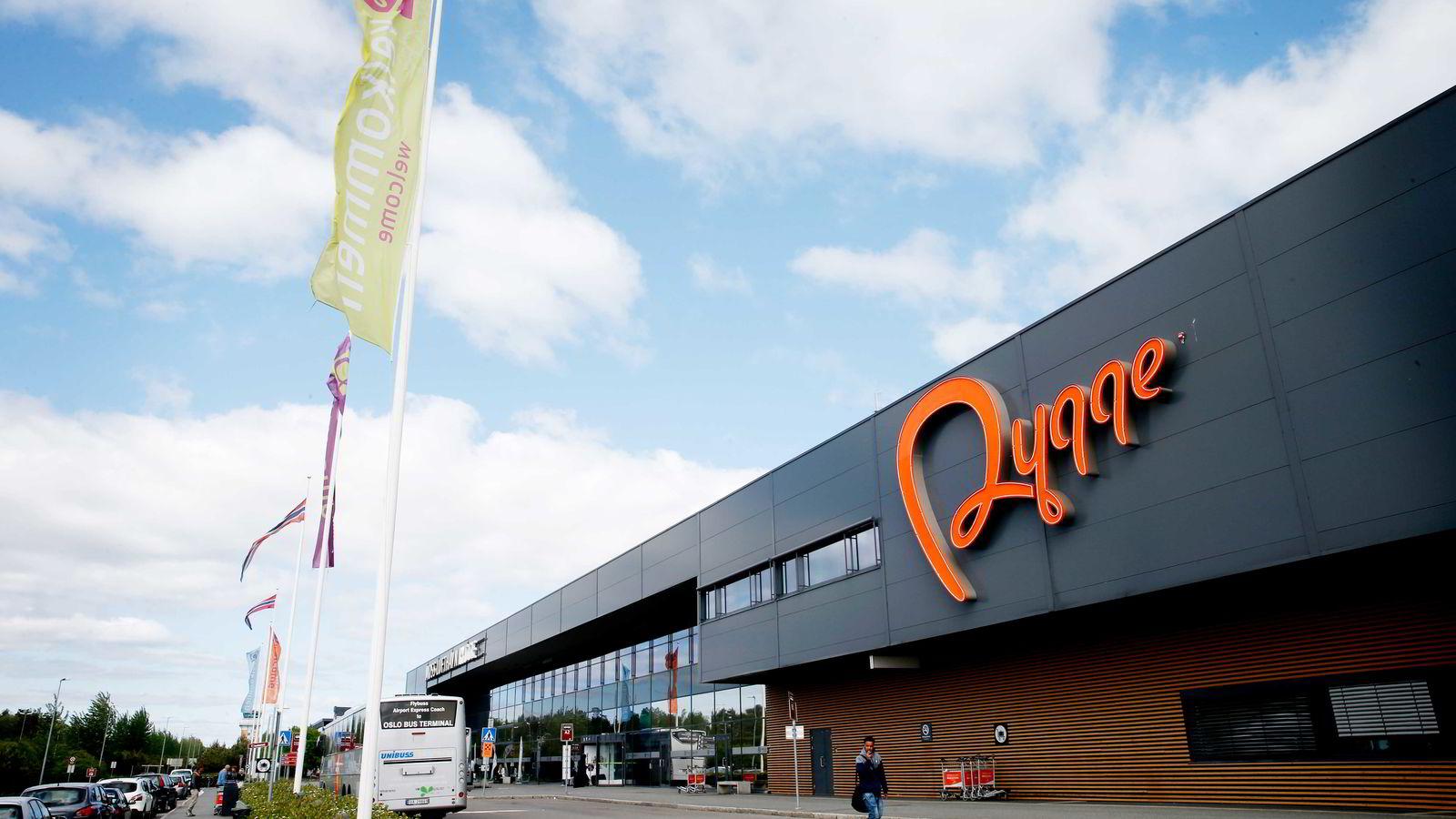 Allerede neste år kan flyplassen på Rygge bli gjenåpnet. Foto: Vidar Ruud/