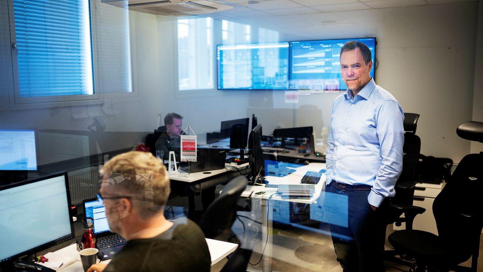 Gunnar Nordseth i Signicat mener gründerselskaper nå gir unge talenter større muligheter for spennende jobber utenfor Oslo. Da han studerte ville mange til Oslo og jobbe på hovedkontoret til store selskaper, fremfor et avdelingskontor.