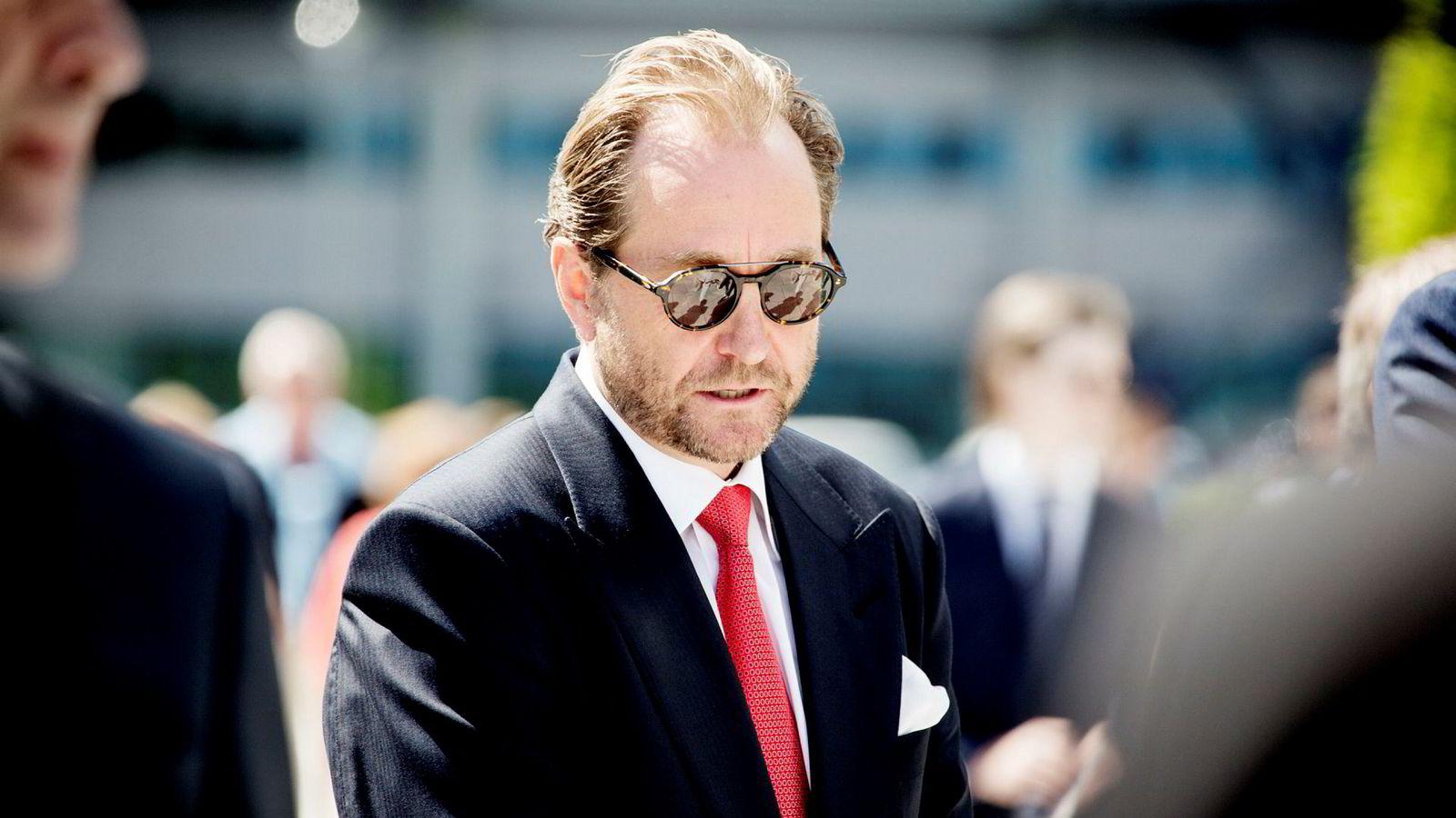 Kjell Inge Røkke eier Aker Energy som leter etter olje utenfor Ghana.