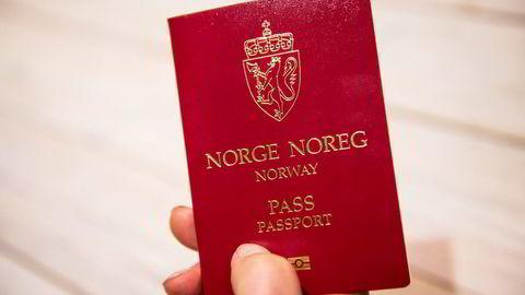 Strengere regler for nye norske pass.