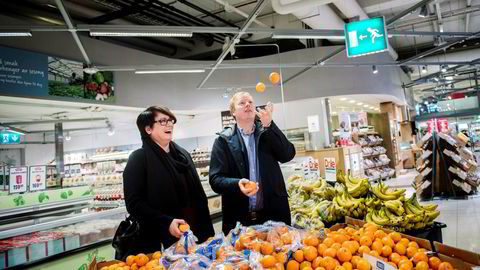 Trine Sandberg, som står bak Trines matblogg, og Meny-sjef Vegard Kjuus skal samarbeide på nett. På Trines Matblogg skal man kunne få varene til oppskriftene brakt hjem fra Menys nettbutikk.