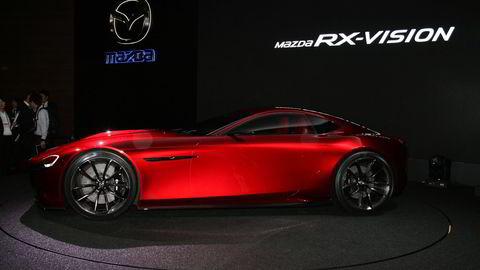 Mazda RX-Vision i Tokyo