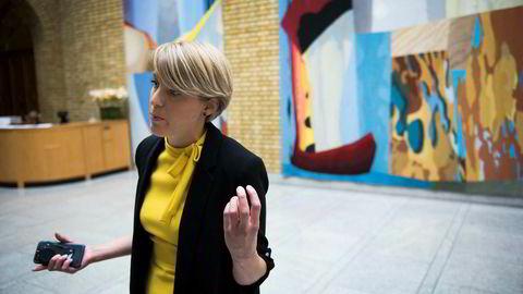 SVs finanspolitiske talsperson Kari Elisabeth Kaski vil ha mer internasjonalt samarbeid om skatt, men glemmer helt å nevne EU.