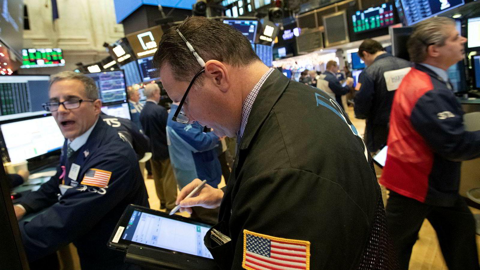 Aksjemeglerne på Wall Street har ikke hatt mye å glede seg over de to siste ukene.