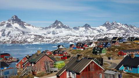 USAs president Donald Trump har vist interesse for å kjøpe hele Grønland.