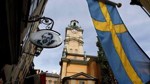 Arkivbilde. Gamla Stan i Stockholm. Foto: REUTERS/Bob Strong/File Photo