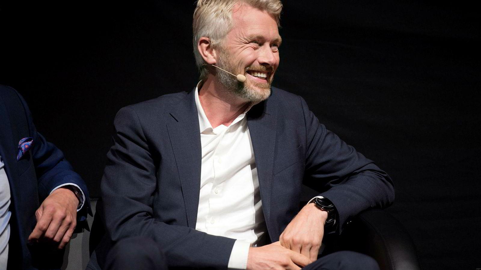 TV2-direktør Olav Sandnes har endelig grunn til å smile.