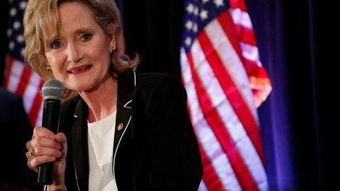 Republikaneren Cindy Hyde-Smith blir ny senator fra Mississippi.