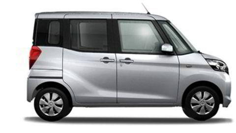 Mitsubishi eK Space er en av modellene det er jukset med. Foto: Mitsubishi