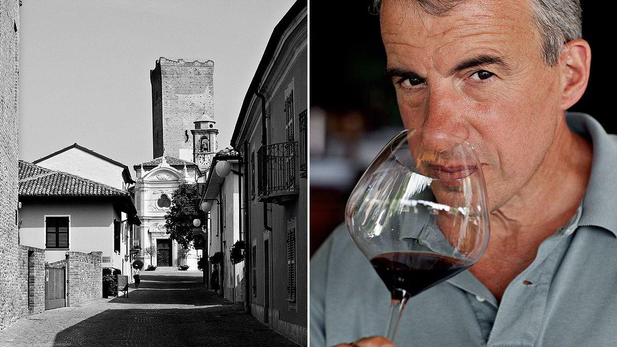 Aldo Vacca hos Produttori del Barbaresco i Barbaresco, Piemonte. Foto: