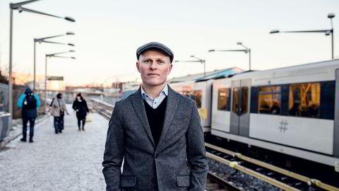 Øystein Berge, som er prosjektleder i Cowi, har sett på hva fremtidens mobilitetsløsninger gjør med rushtrafikken i Oslo.