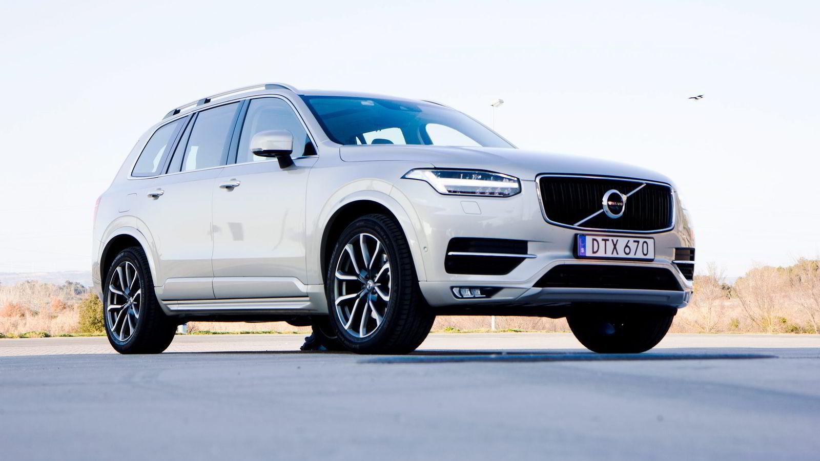 2015 ble et Volco XC90-år, sier Øystein Herland, administrerende direktør i Volvo Car Norway.