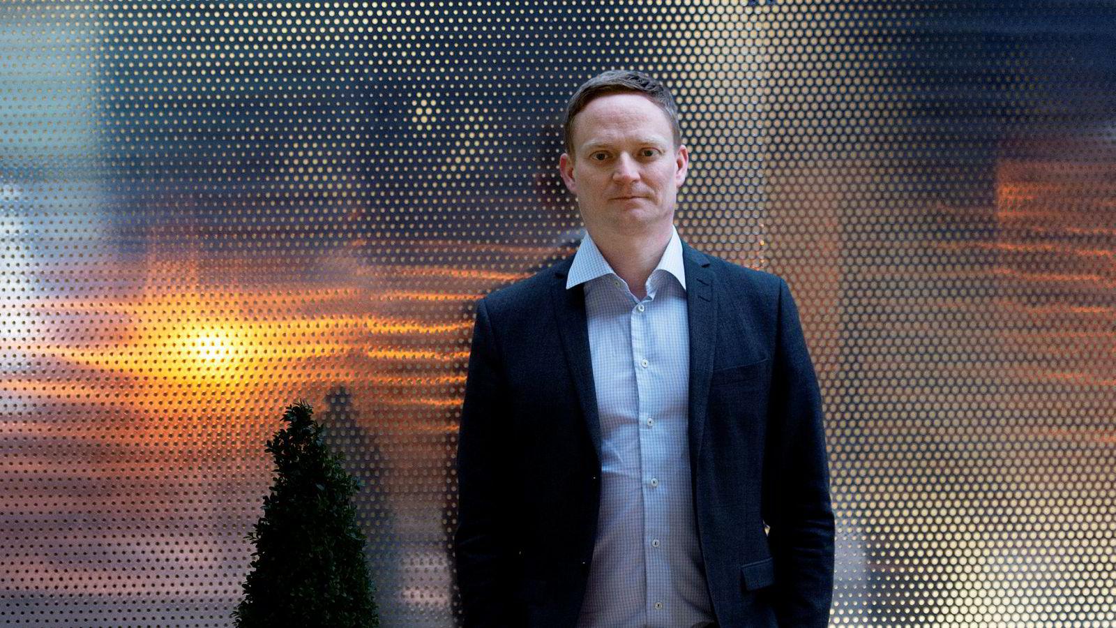 Leder for samfunnskontakt og kommunikasjon Kai-Morten Terning i Bank Norwegian