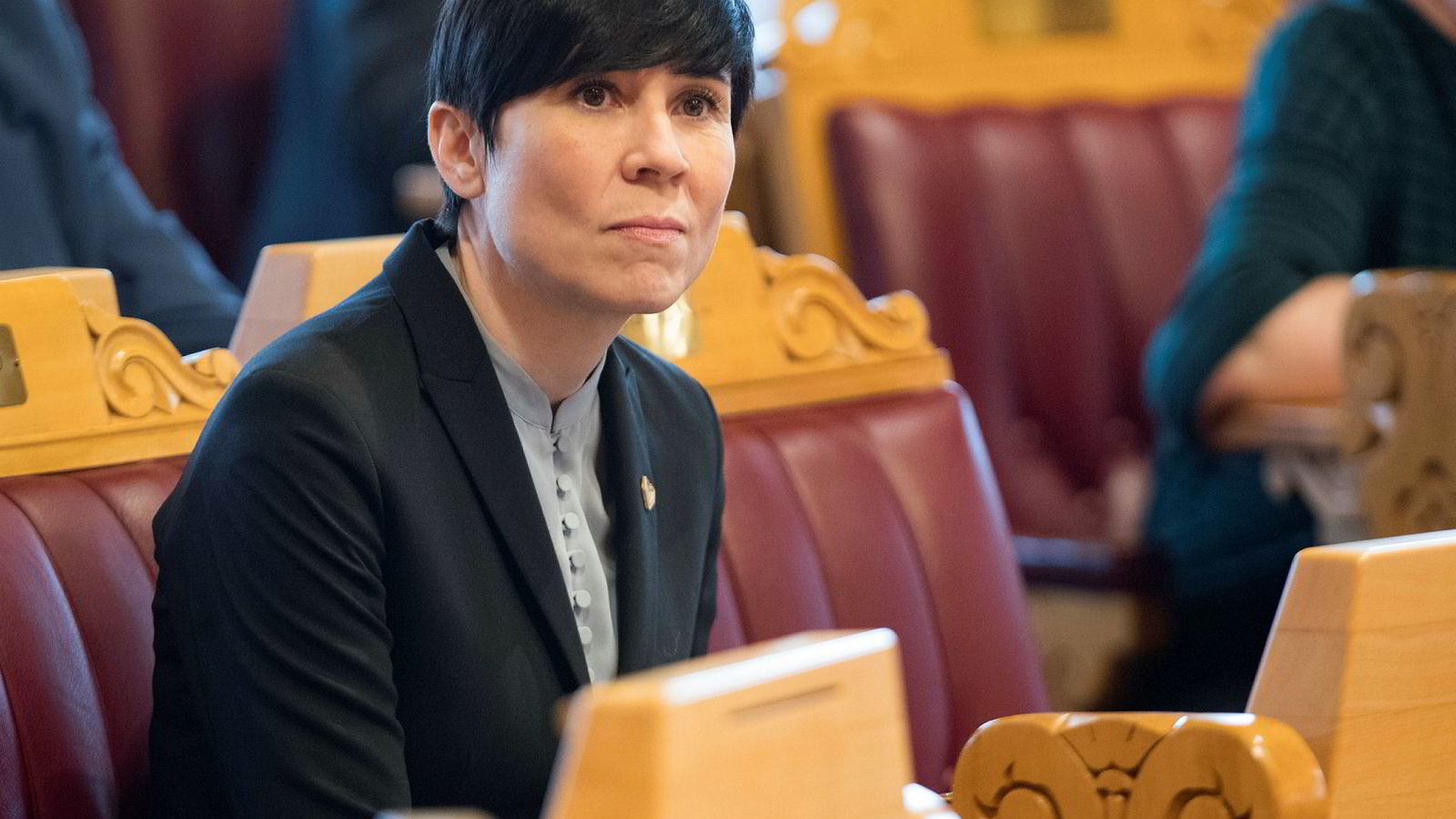 Utenriksminister Ine Eriksen Søreide (H) holdt sin utenrikspolitiske redegjørelse i Stortinget tirsdag. Foto: Terje Bendiksby / NTB scanpix