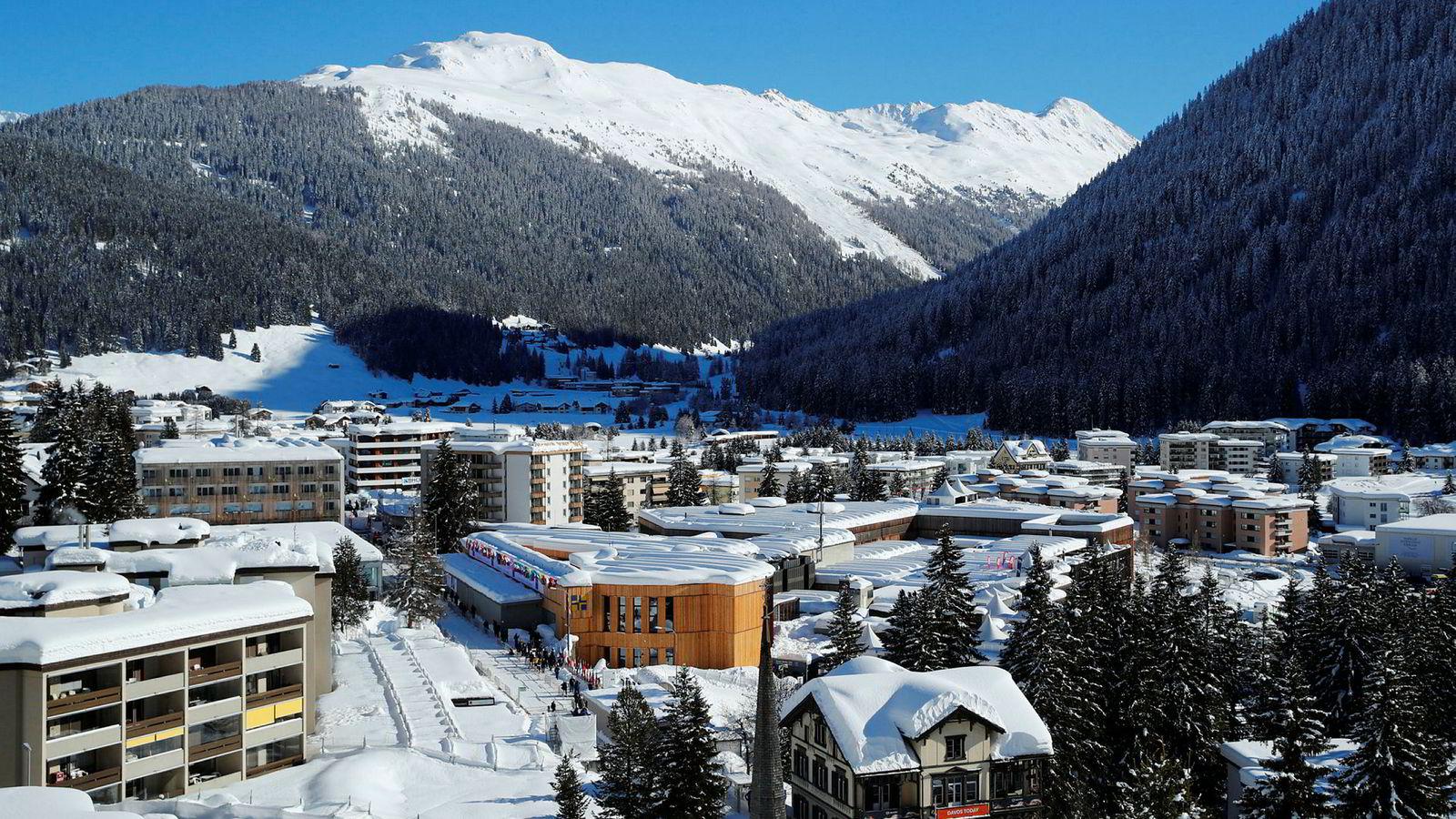 Verdens mektigste og rikeste mennesker samles denne uken i Davos