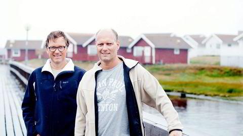 Brødrene Kristian og Roger Adolfsen eier Hero Norge, som i fjor omsatte for 850 millioner kroner. Foto: Fartein Rudjord