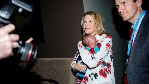 Espen Espeset blir Fremskrittspartiets mann på Statsministerens kontor. Her sammen med ektefellen Sylvi Listhaug da hun var statsråd.